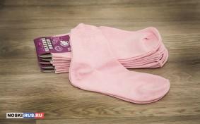 Розовые женские носки 38-40 размера
