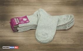 Светло-серые женские носки 38-40 размера
