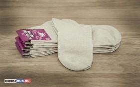 Льняные женские носки 35-37 размера