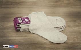 Льняные женские носки 38-40 размера