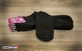 Черные женские носки 35-37 размера