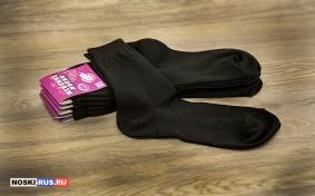 Черные женские носки 38-40 размера
