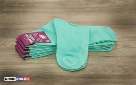 Бирюзовые женские носки 38-40 размера