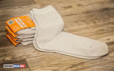 Летние льняные мужские носки 41-43 размера