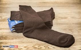 Коричневые мужские носки 41-43 размера